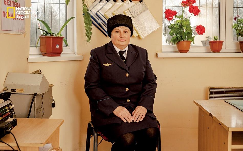 سيدات القطار في أوكرانيا