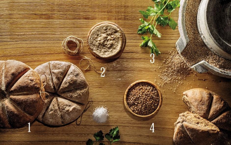 خبز من زمن الرومان