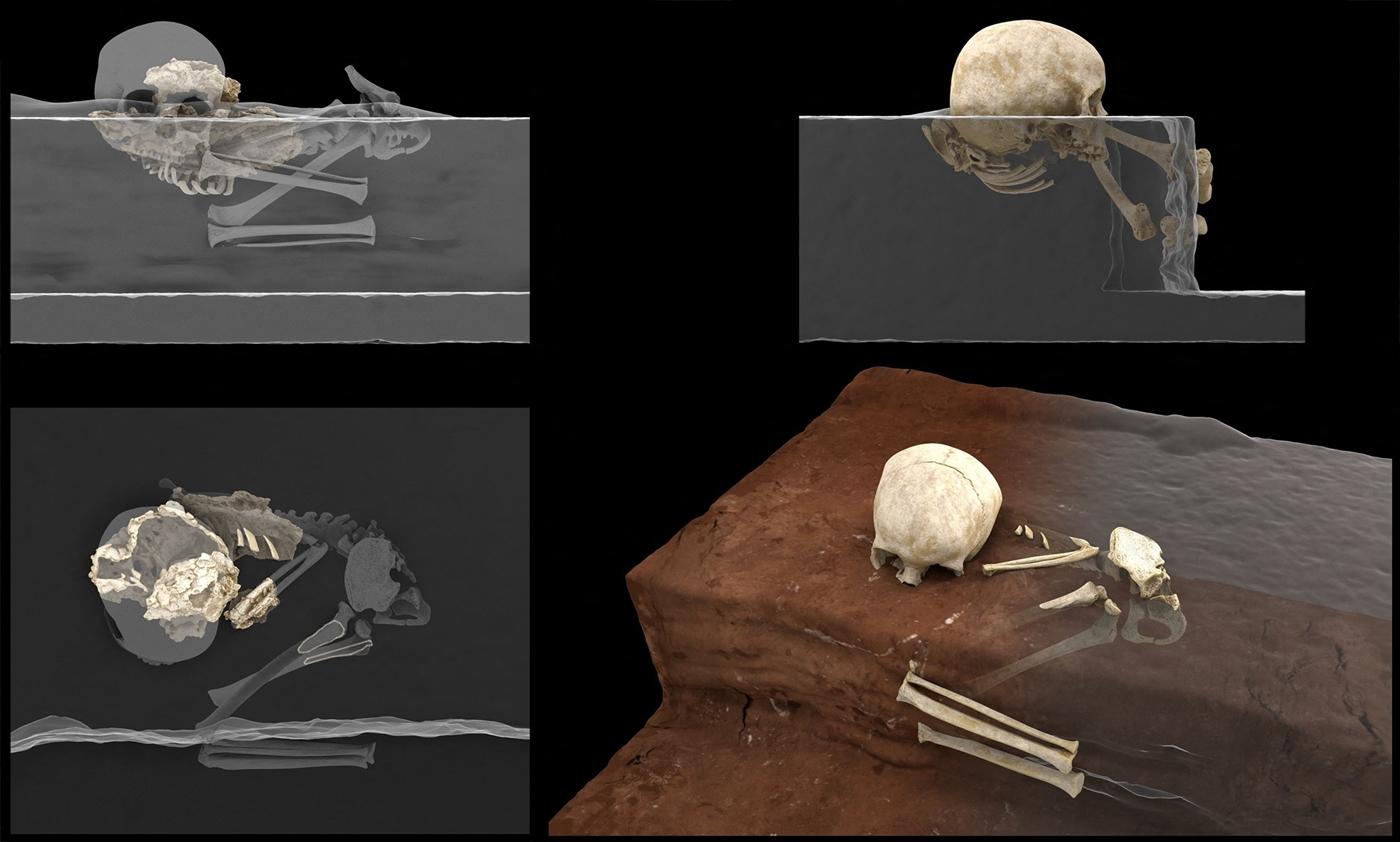 العثور على رفات طفل عمرها 78 ألف عام في كينيا