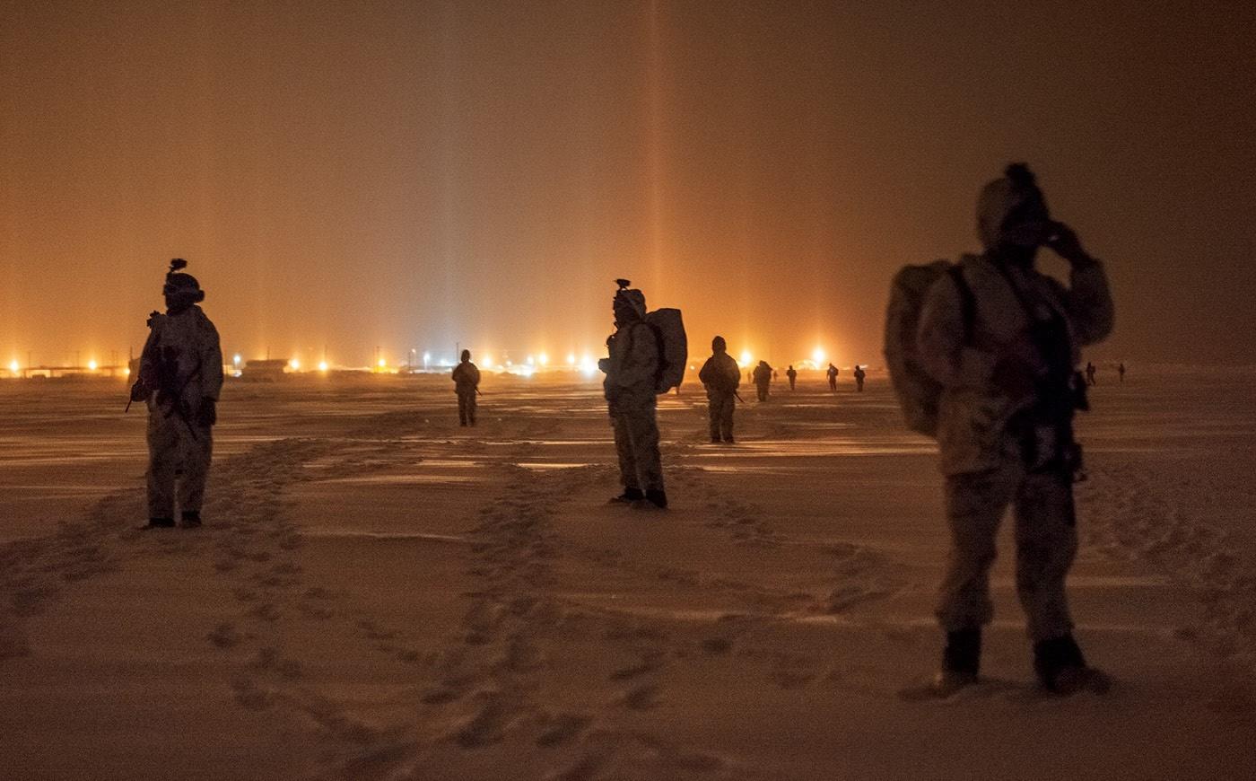 حرب باردة في القطب الشمالي