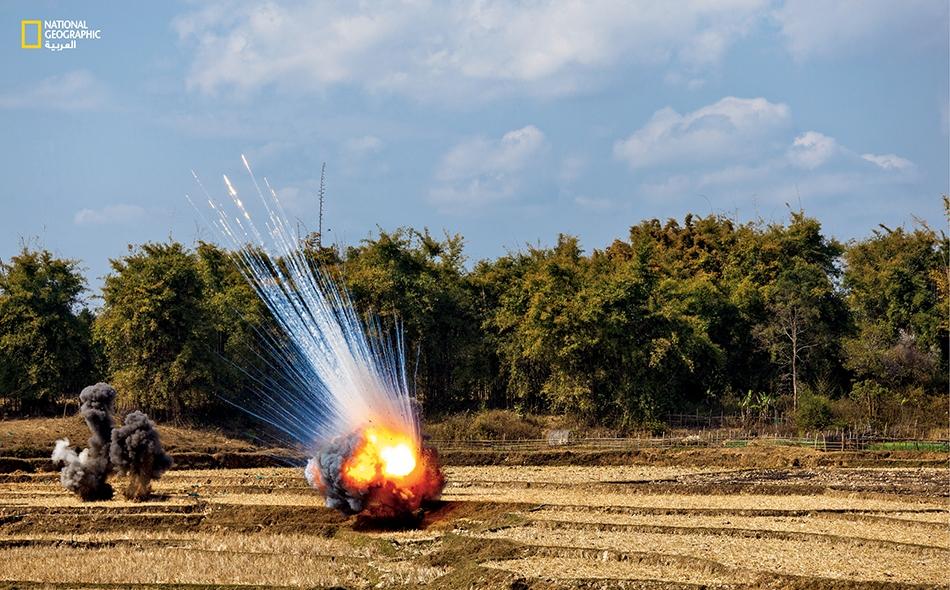 في عام 2012، فُجِّرَت هذه الذخائر (وهي من بقايا الذخائر غير المنفجرة زمن الحرب الفيتنامية) لجعل الحقل آمناً.