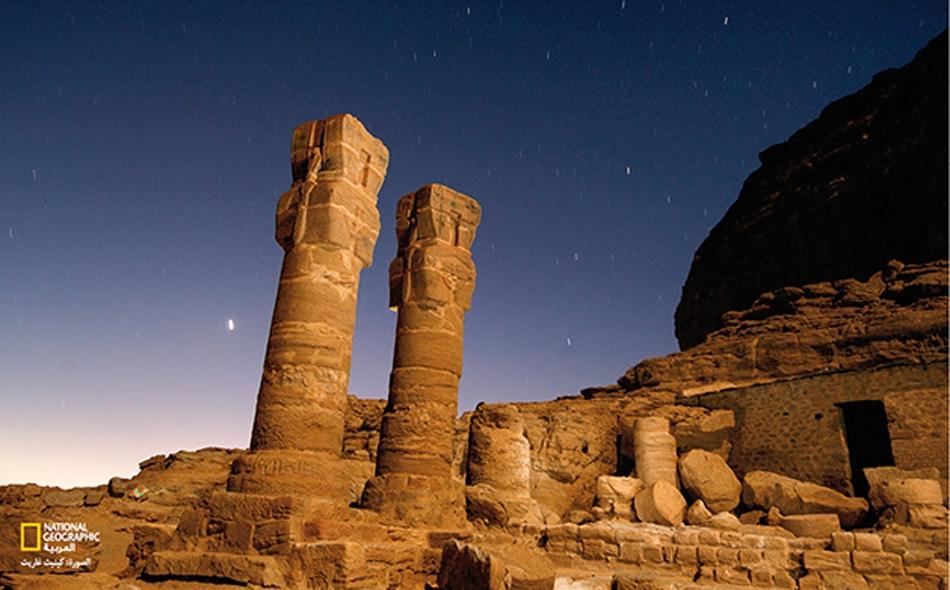 العثورعلى سور قديم في منطقة تل الضبعة في محافظة الشرقية في مصر
