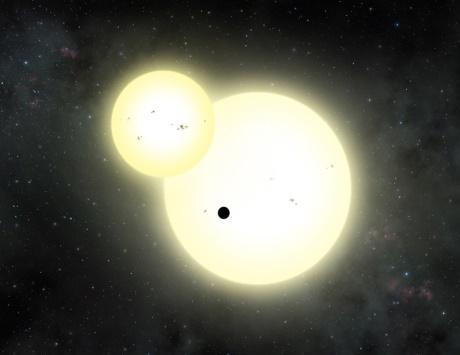 اكتشاف أكبر كوكب خارج المجموعة الشمسية يدور حول نجمين