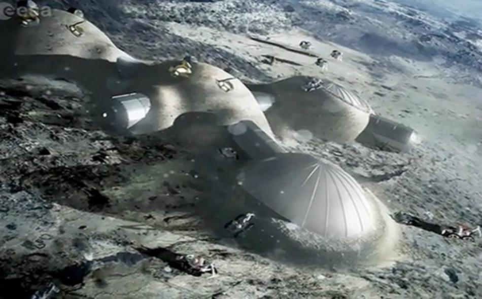قرية القمر حلم المستقبل.