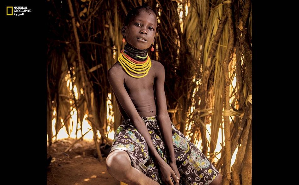 """ناوار كاغيتي من كينيا. """"نعاني التحرش والمضايقة في كل مكان. يطاردنا الرجال.. حتى عندما نذهب لجلب الماء، وحتى عندما نحتطب""""."""