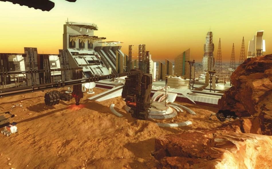 """الإمارات تستوطن الكوكب الأحمر بـ """"المريخ 2117"""""""
