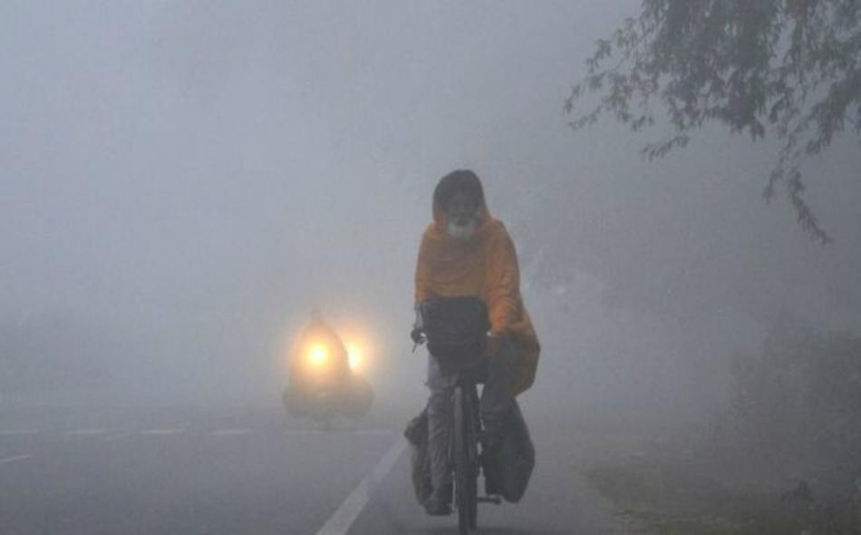 تعاني مدينة دلهي ومحيطها من التلوث الجوي بمواد سامة منذ أسبوع تقريبا، مما حدا بالسلطات إلى اتخاذ مجموعة إجراءات لمواجهة الأزمة. الصورة: EPA