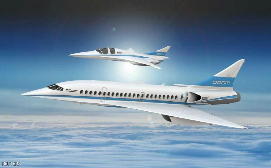 """من المرتقب أن تشرع الطائرات الفائقة السرعة في الخدمة، في أواسط 2020، وستطير بسرعة تفوق """"الكونكورد"""" بـ 10 بالمئة."""