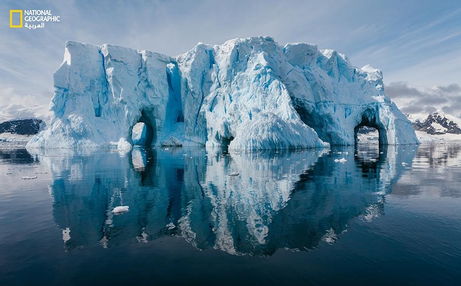 """سيتم نقل الجليد إلى مدينة """"سانت بطرسبرغ"""" لمزيد من الدراسة والتحليل. وكان قد عثر في محطة """"فوستوك"""" على جليد عمره 400 ألف عام. صورة أرشيفية"""
