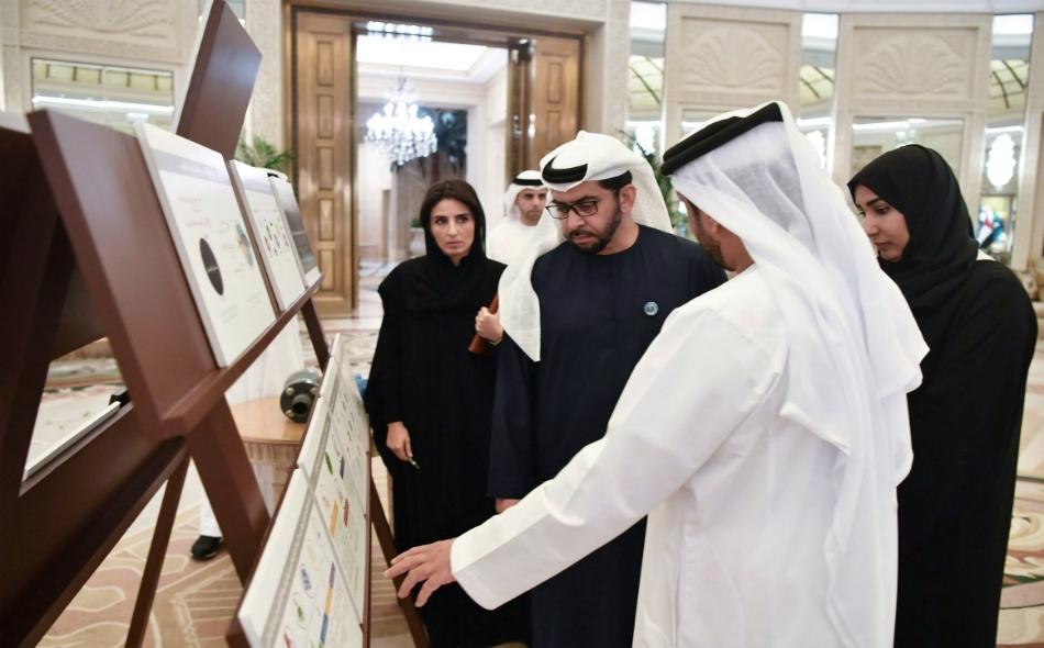 اطلع سمو الشيخ حمدان بن زايد آل نهيان على تقرير بشأن شبكة زايد للمحميات الطبيعية التي تديرها الهيئة بالإمارة وتتكون من 19 محمية.