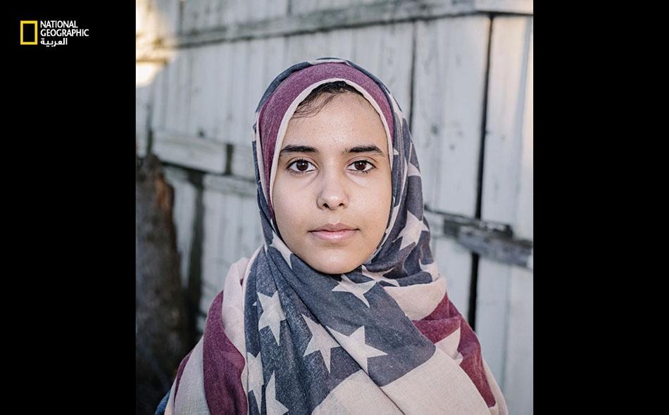 """تدرس """"إيمان صالح""""، ذات الأصول اليمنية، الصحافة لدى """"جامعة واين"""" في ديترويت."""