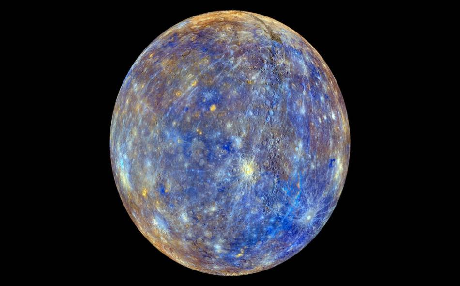 """ستخرج المركبة الفضائية """"بيبي كولومبو"""" من مجال جاذبية الأرض بعد عام ونصف العام ثم تزداد سرعتها خلال الرحلة، على أن تدخل مدار كوكب عطارد في ديسمبر 2025. الصورة: NASA/Johns Hopkins University Applied Physics Laboratory/Carnegie Institution of Washington"""