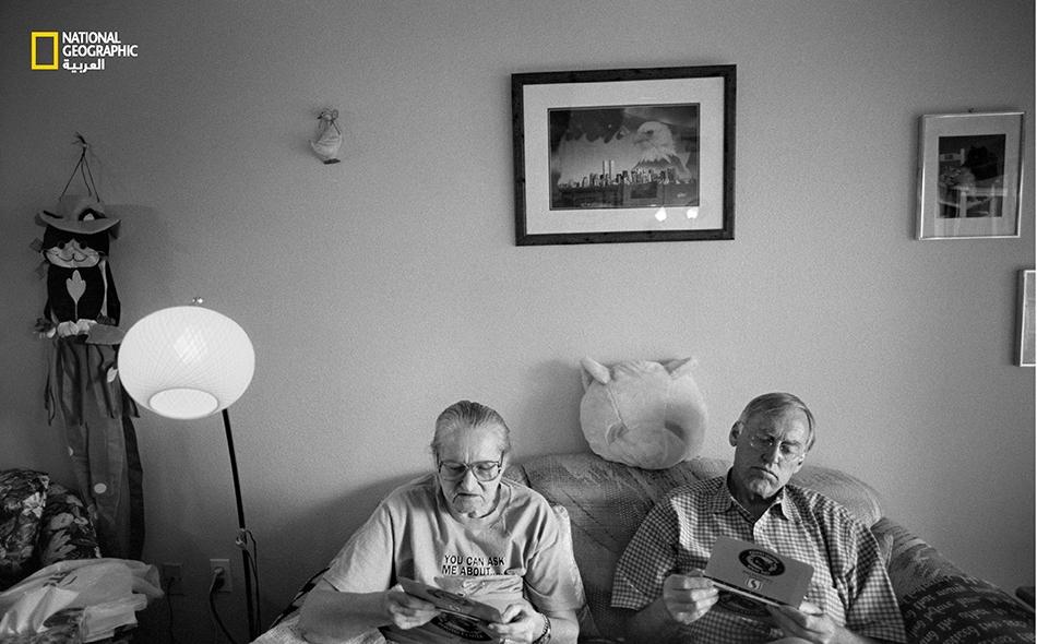 """أغسطس 2005 – كان سبيتزر أحياناً يزور """"بوتر"""" في شقتها، أو يلتقيان في مقصف المستشفى لتناول طعام الغداء."""