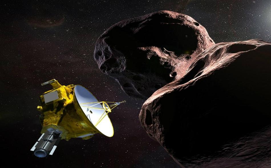 """انطلقت المركبة """"نيو هورايزونز"""" في يناير عام 2006 صوب أطراف المجموعة الشمسية لدراسة الكوكب القزم """"بلوتو"""" وأقماره الخمسة. الصورة: NASANewHorizons"""