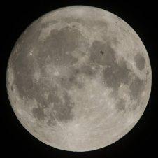 تُظهر عينات صخور القمر البازلتية (الشبيهة بمعظم الصخور البركانية على الأرض) أدلة على حدوث ثورات بركانية على سطح القمر قبل ما يتراوح بين 1.5 مليار عام إلى ملياري عام. الصورة: NASA/Joel Kowsky