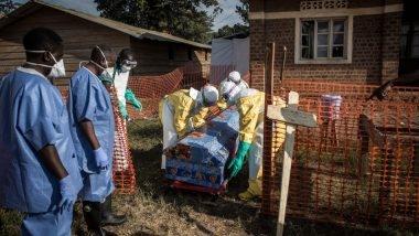 أثار انتقال الفيروس إيبولا إلى غوما (الواقعة شرق الكونغو مع حدود رواندا) مخاوف من اتساع نطاق الانتشار، والذي يعد بالفعل ثاني أعنف انتشار للفيروس على الإطلاق. الصورة: AFP