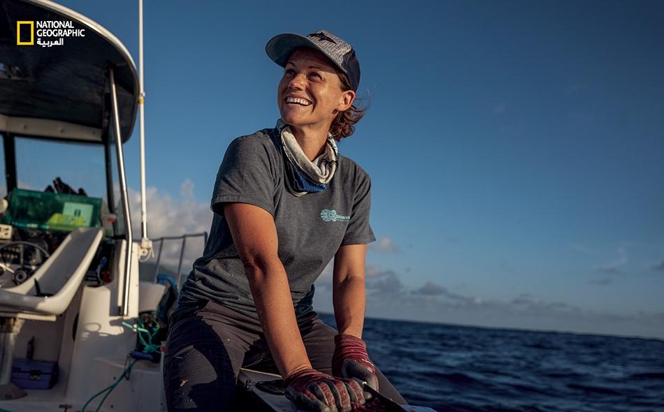 جيس كرامـب (ولدت عام 1979) عالمة أحياء بحرية ساعدت على إنشاء إحدى أكبر المحميّات المخصصة لأسماك القرش في العالم.