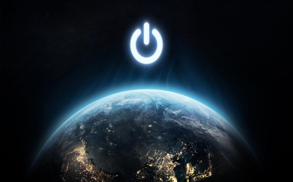 في هذه المبادرة البيئية يشارك الملايين حول العالم عبر إطفاء الأضواء والأجهزة الكهربائية غير الضرورية، إضافة إلى إطفاء أضواء أبرز المعالم والمباني حول العالم من الساعة 8:30 إلى 9:30 مساء يوم السبت الأخير من شهر مارس في كل عام. الصورة: Shutterstock/ Dima...