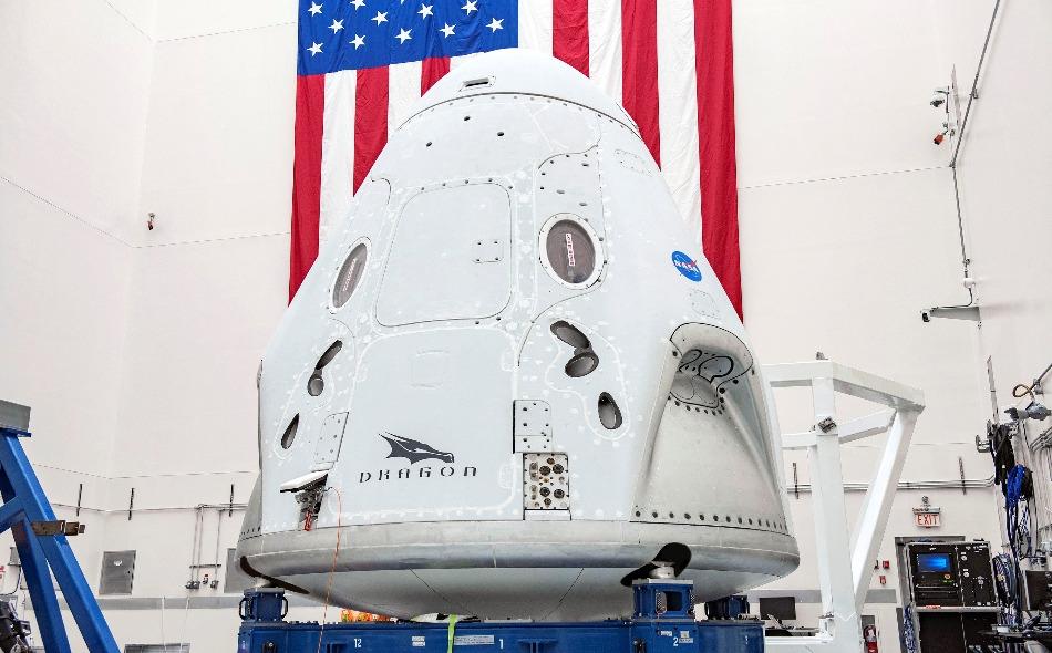"""في حال نجحت المهمة فإن شركة """"سبيس إكس"""" ستصبح أول شركة خاصة ترسل رواد ناسا إلى الفضاء. الصورة: Spacex"""