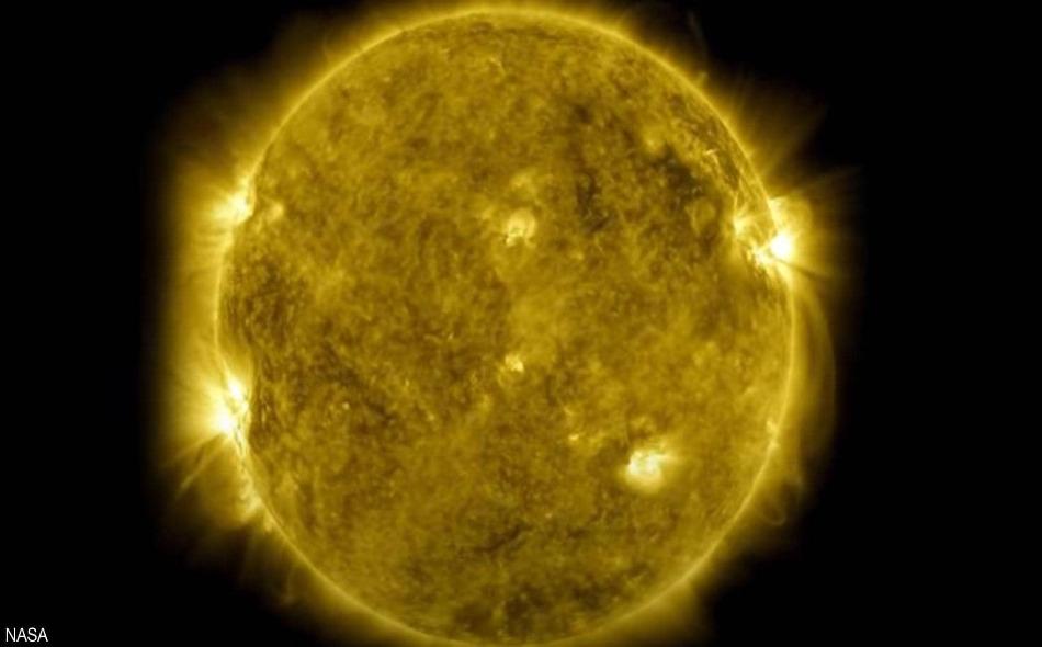 نشاط الشمس في عقد من الزمن