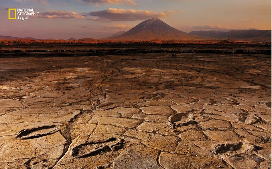 رجل قروي من تنزانيا يعثر على كنز من آثار أقدام قديمة.