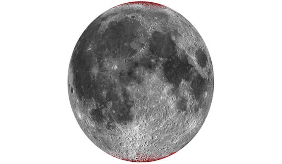 """عندما حلل باحثون بيانات مسبار """"شاندريان1″، ذهلوا عندما لاحظوا إشارات عن وجود """"الهيماتايت""""، وهو شكل من أشكال أكسيد الحديد المعروف باسم """"الصدأ"""". وقال الباحثون إن هناك كميات كبيرة من الصخور الغنية بالحديد على القمر، لكن الصدأ لا ينتج إلا عندما يتعرض..."""